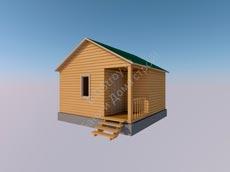 Каркасно-щитовой дом № 14