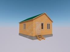 Каркасно-щитовой дом № 15
