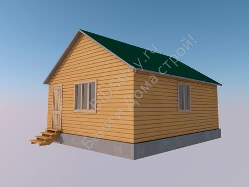 Щитовой дом 6 на 7