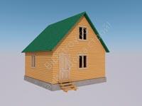 Недорогой каркасный дом для круглогодичного проживания