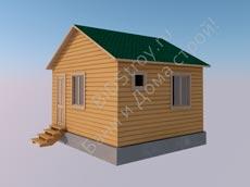 Щитовой дом 4 на 5