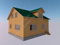 Щитовой дом 7 на 9