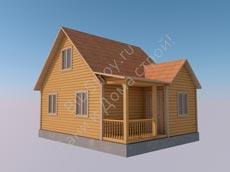 Ккаркасно-щитовой дом под ключ