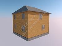 Каркасный дом 7 на 7