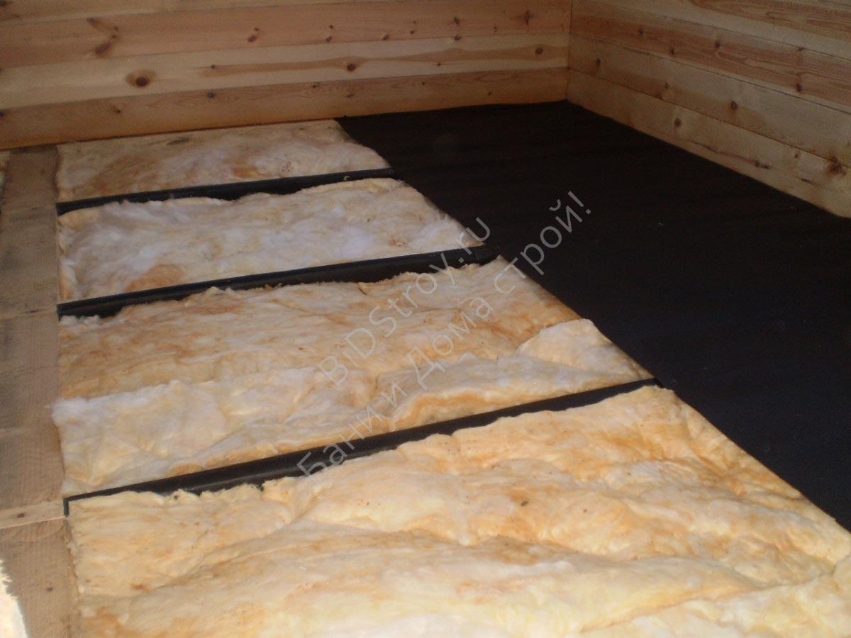 Теплоизоляция дома из бруса