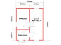 Проект щитового дома 5 на 6
