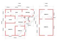 Планировка большого дома для постоянного проживания 7 на 9,5